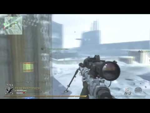 MW2 sniper quickscopes/noscopes Video