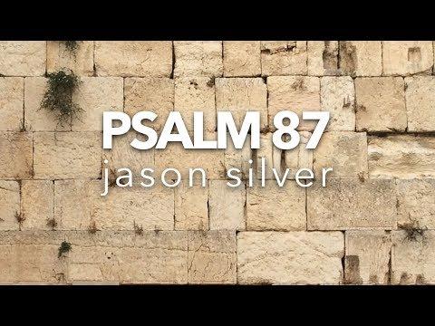 🎤 Psalm 87 Song with Lyrics - My Jerusalem - Jason Silver [ WORSHIP SONG ]