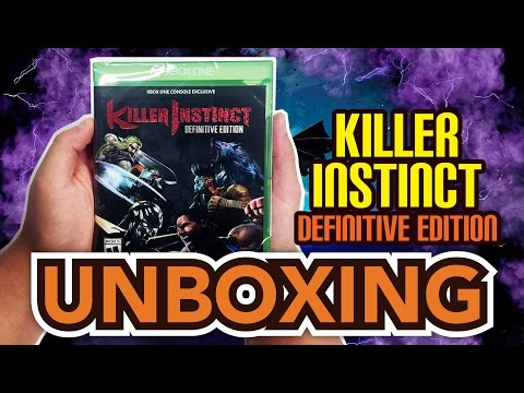 Killer Instinct: Definitive Edition (Microsoft Xbox One) Unboxing!!