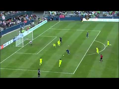 Rooney hits hat trick against Seattle