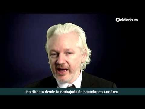 """Julian Assange: """"Ahora tenemos superpoderes"""""""
