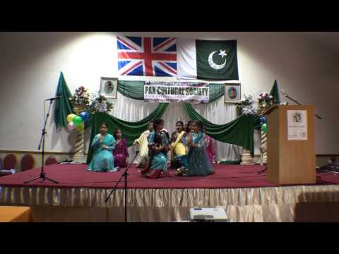 Cultural Evening 8 Sep 2012 - Girls Performance on Mane de Moj...