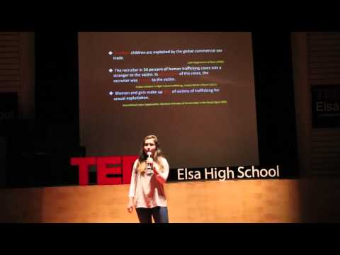 Human trafficking -- the story behind the statistics | Malika Zekhni | TEDxElsaHighSchool