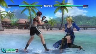 Mila vs Helana | Dead or Alive 5 Game Đánh Nhau | Game Offline #12