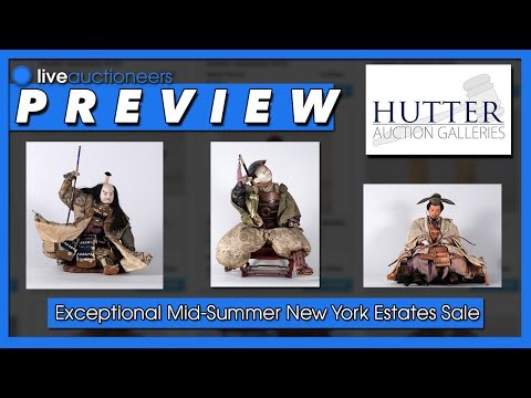 "Hutter Auction Galleries ""Exceptional Mid-Summer New York Estates"" Preview"