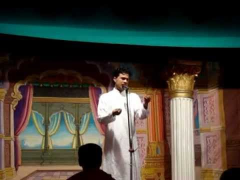 Shrirang Bhave Sings Zani De Kar Ya Deena 20jan 2013 Parle Pulostav video