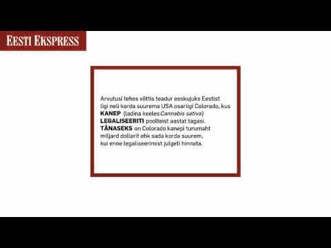 Kanep legaliseeriti tänaseks (Eesti Ekspressi reklaam)