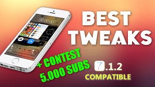 Best 25 Cydia Tweaks compatible with iOS 7.1.2 + CONTEST!