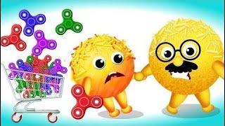 Mega Cake pop Fidget spinners Finger circle of relatives | Cake pop spinners