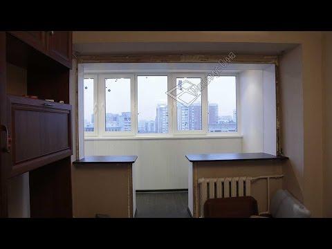 Максимус окна - ремонт лоджии от и до ( остекление, утепление и отделка лоджии )