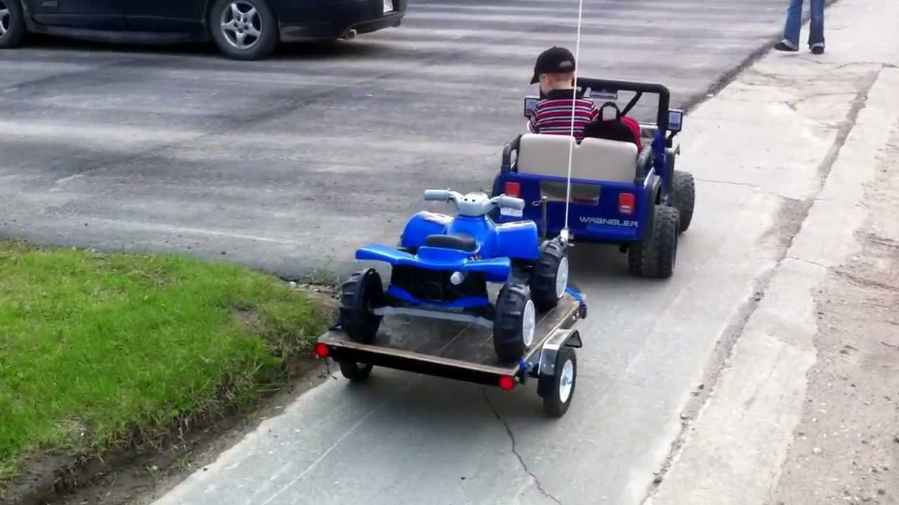 Power Wheels Trailer Power Wheels Jeep With Hand