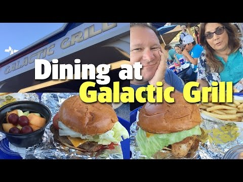 Dining at Galactic Grill | Disneyland Park