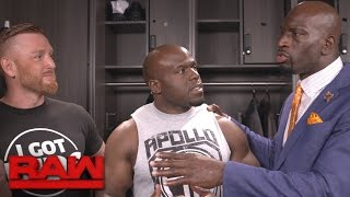 "Titus O'Neil catches Apollo Crews speaking with ""the enemy"": Exclusive, May 1, 2017"