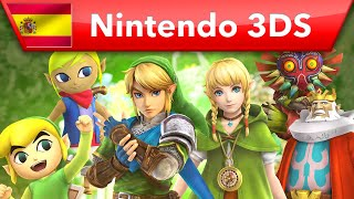 Hyrule Warriors: Legends - Tráiler de los personajes (Nintendo 3DS)