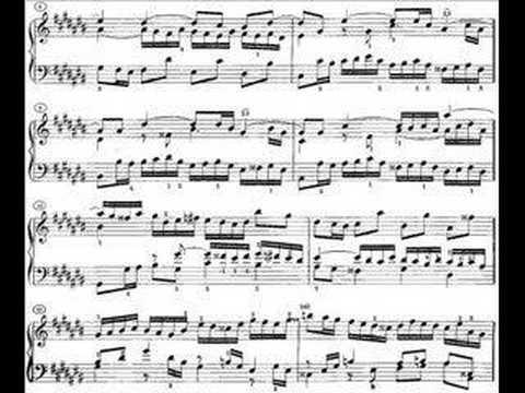 Бах Иоганн Себастьян - Well Tempered Clavier Bk1 Prelude Fugue No3