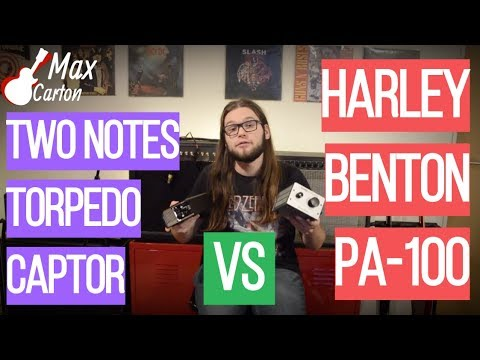 TORPEDO CAPTOR vs HARLEY BENTON ATTENUATOR