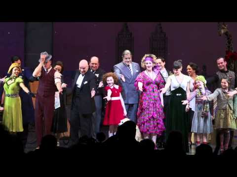 Opening Night of ANNIE The Musical on Broadway