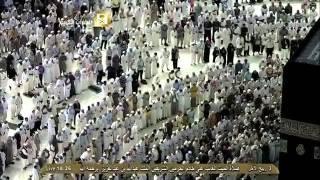 صلاة الغائب على الملك عبدالله في الحرم المكي : مغرب الجمعة  3-4-1436