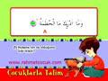 Çocuklarla Kur'an Talimi - Hümeze Suresi