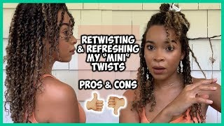 "Retwisiting My ""Mini"" Twists 