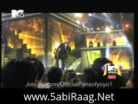 Yo Yo Honey Singh MTV Awards 2013 Stage Performance Full Video
