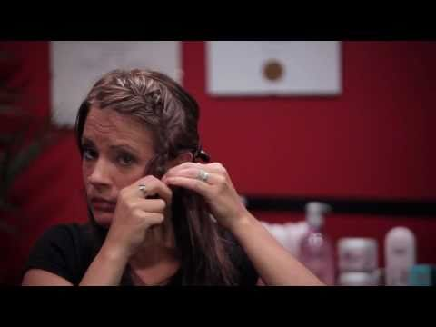 How To - French Braid - Side Bang