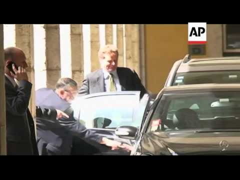 Finance chiefs leave after talks on terms of bailout plan for Portugal