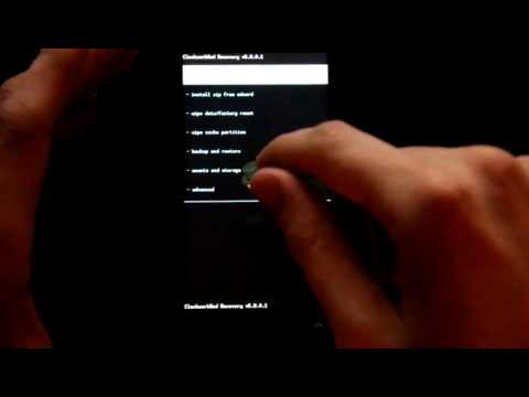 How To Install ClockworkMod Touch Recovery on the HTC EVO 3D!