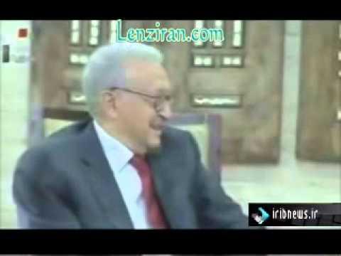 UN special representative Lakhdar Brahimi met Bashar Asad in Damascus
