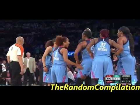 Reshanda Gray Ejected After Kicking Player (WNBA)