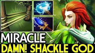 Miracle- [Windranger] Damn! Shackle God 7.14 Dota 2