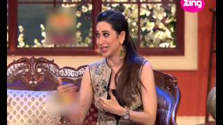 Karisma Kapoor in support of cousin Armaan Kapoor