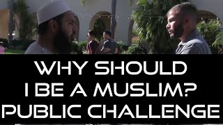 Video: Which Father would allow His Son to be killed, and do nothing? - Uthman Ibn Farooq vs Eduardo