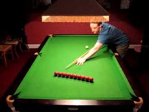Ten Ball Machine Gun Snooker Shot