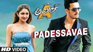 Download Padessavae Full Video Song || Akhil - The Power Of Jua || Akhil Akkineni, Sayesha 3Gp Mp4