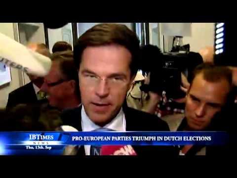 Pro-European parties triumph in Dutch elections