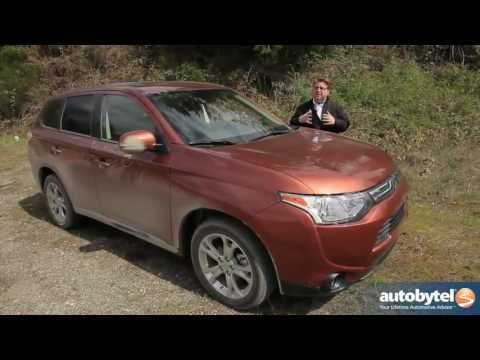 2014 Mitsubishi Outlander Test Drive & Crossover SUV Video Review