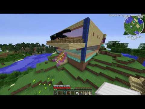 Sezon 5 Minecraft Modlu Survival Multi Bölüm 9 - Yeni Kapılar