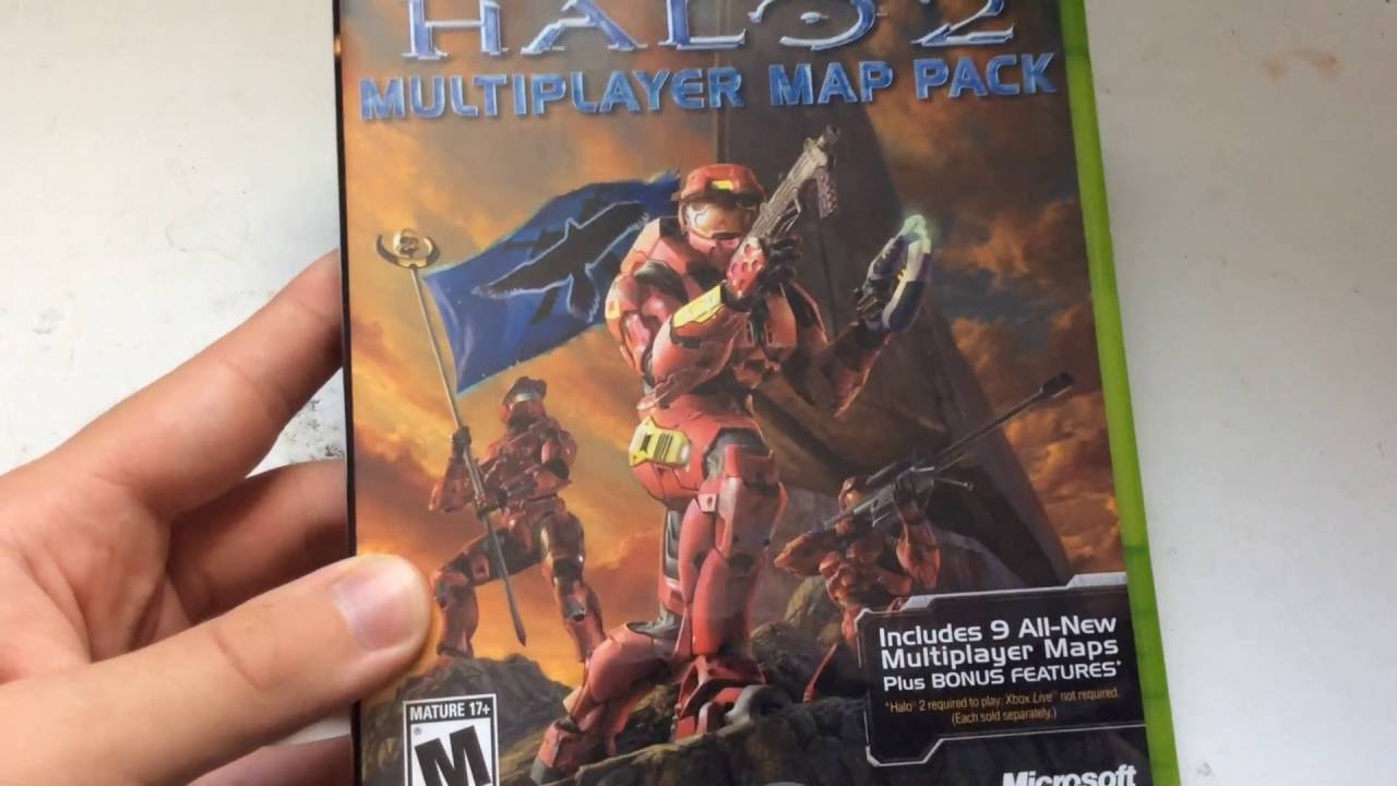 Unboxing Halo 2 Multiplayer Map Pack Xbox Youtube