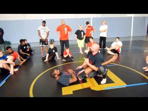 Sambo Leg Lock with Coach Miller Image 1