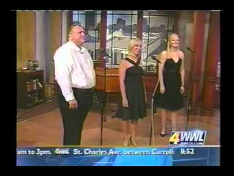 Bon Operatit! Appearance on WWL-TV's Morning Show