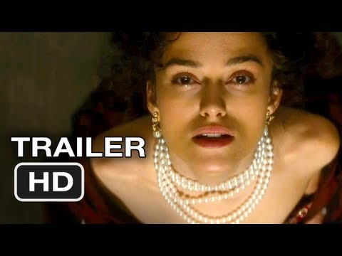 Anna Karenina Official Trailer #1 - Keira Knightley Movie HD