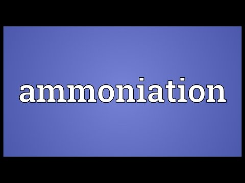 Header of Ammoniation