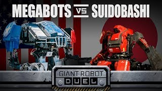THE GIANT ROBOT DUEL by : MegaBots Inc