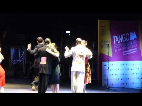 Mundial Tango Salon 2012 Final Ronda 2 (hd) Bryant & Faye Lopez - Canada
