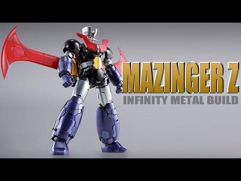 Mazinger Z Infinity Metal Build Mazinger Z Robot Figure Review