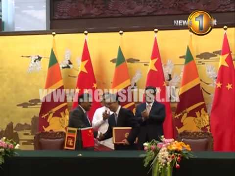 Bilateral agreements reached during President's China visit
