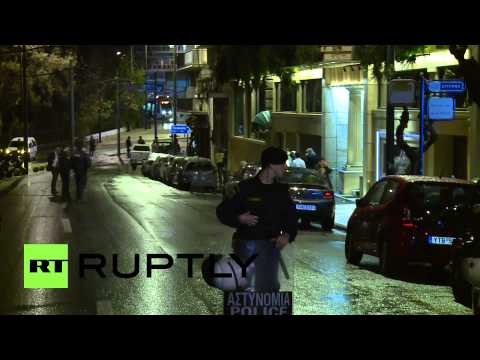 Greece: Bomb scare at Athens hotel