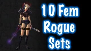 10 Sexy Female Rogue Transmog Sets #1 (World of Warcraft)