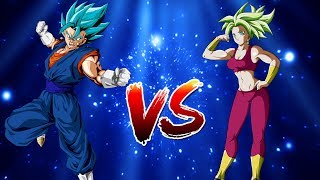 Vegito Vs Kefla (DragonBall Super Sprite Animation)